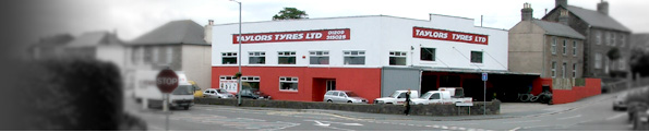 Taylors Tyre Centre at Barncoose Lane